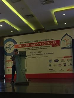 Neuro rehabilitation research and presentation
